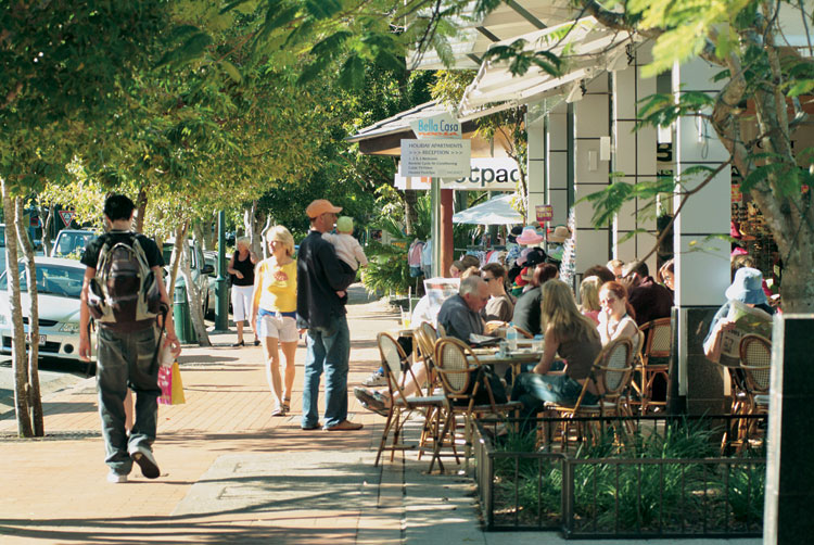 Hastings St is the very popular main drag, to get the most out of Noosa spend some time away from it