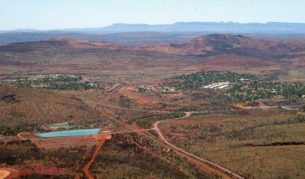 Open Cut Iron Ore Site, Mt Tom Price, WA