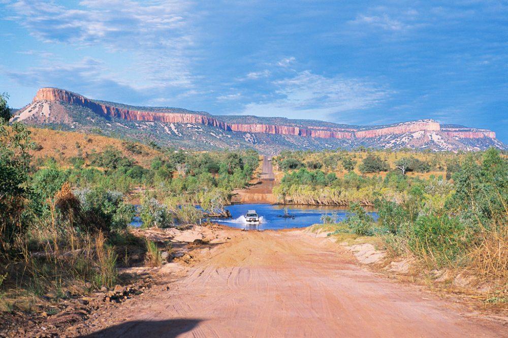 Pentecost River, outback WA.