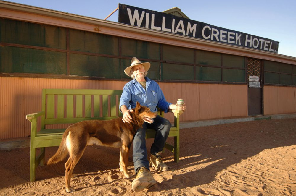 Red Dog at William Creek Hotel