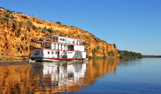 Paddle Steamer Excursion, Murray River, SA