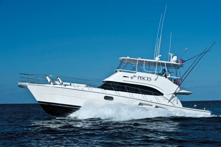 The luxury game fishing charter MV Pisces