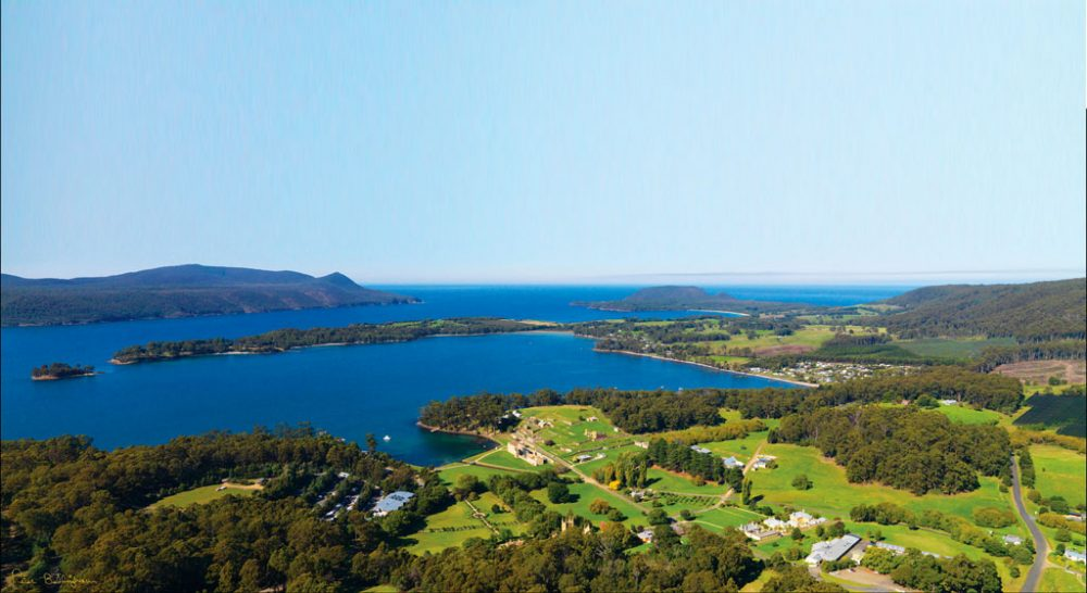 Port Arthur aerial shot