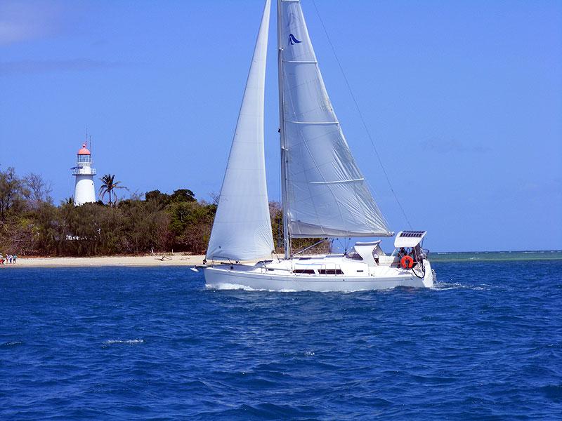 Sailing at Port Douglas.