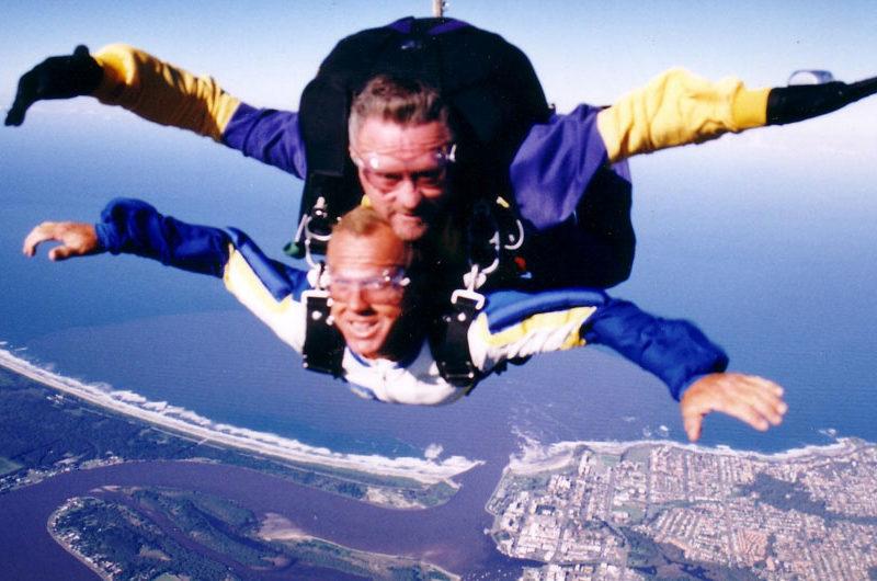 Sky diving Port Macquarie, NSW