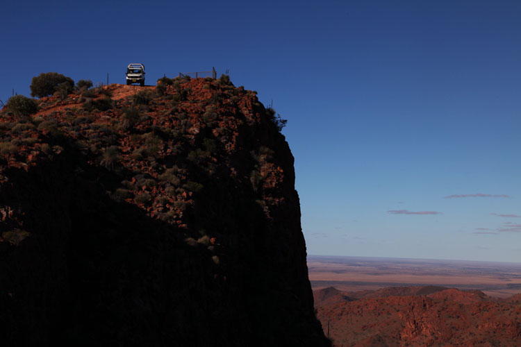 Descending from Sillars Lookout on our pick of Flinders Tours, the Ridge Top Tour Arkaroola
