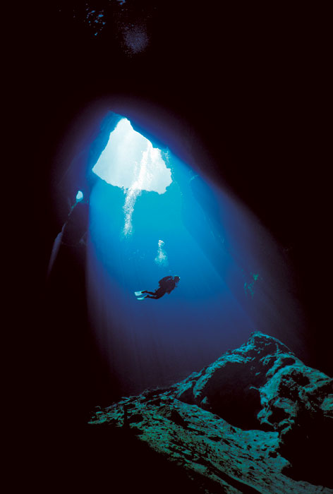 The diving opportunities near Mount Gambier are among the most spectacular in the world
