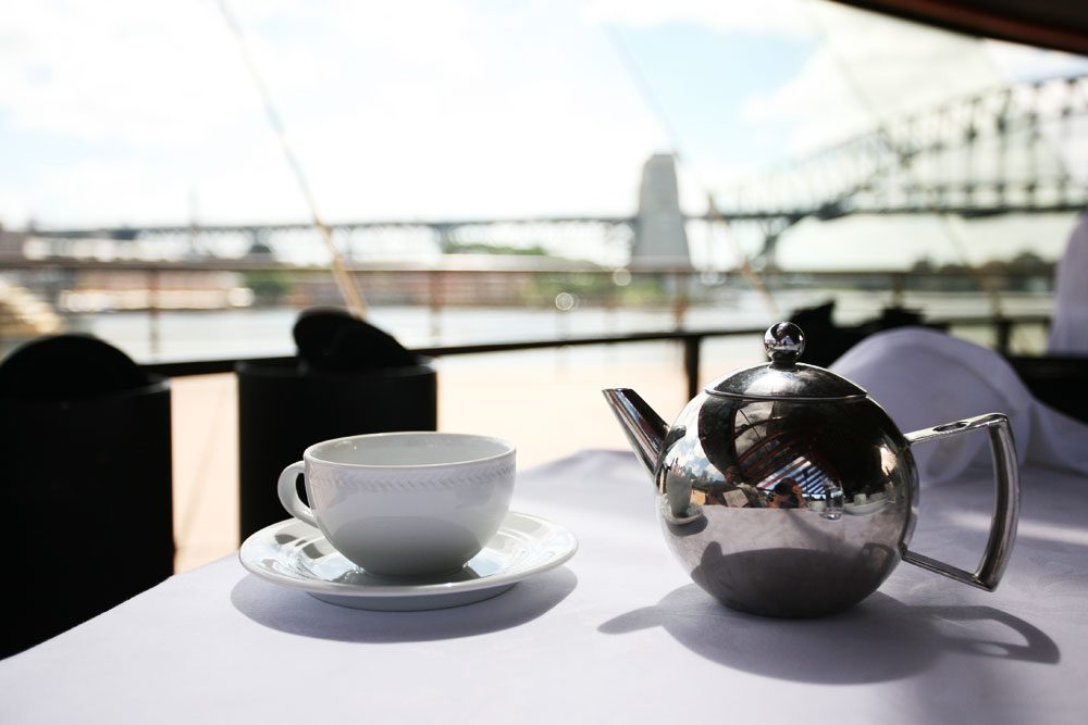 This is the best view for any High Tea in Sydney. Bar none.