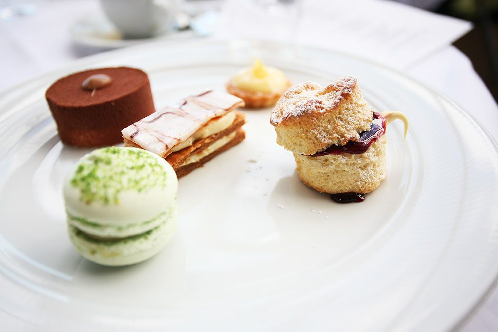 The second course is dessert and is the highlight of any high tea.