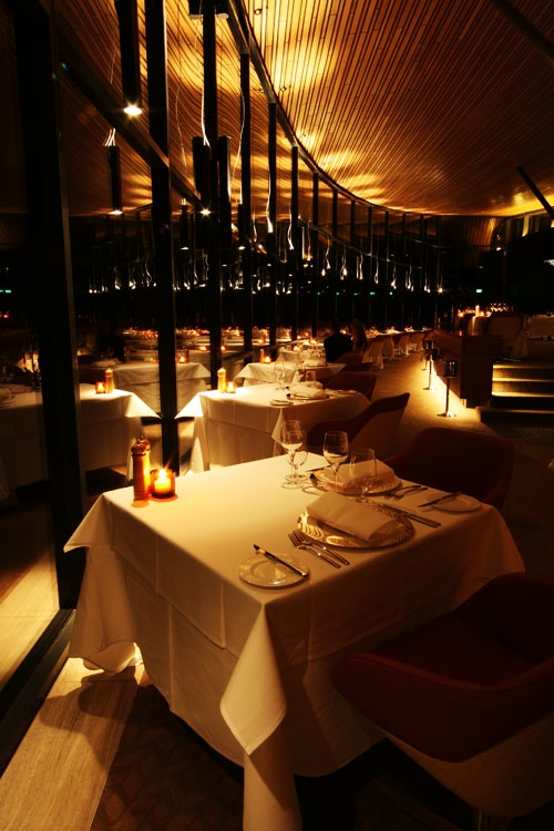 The restaurant is where the masterpiece within a masterpieces is showcased, Hugh Whitehouse's food