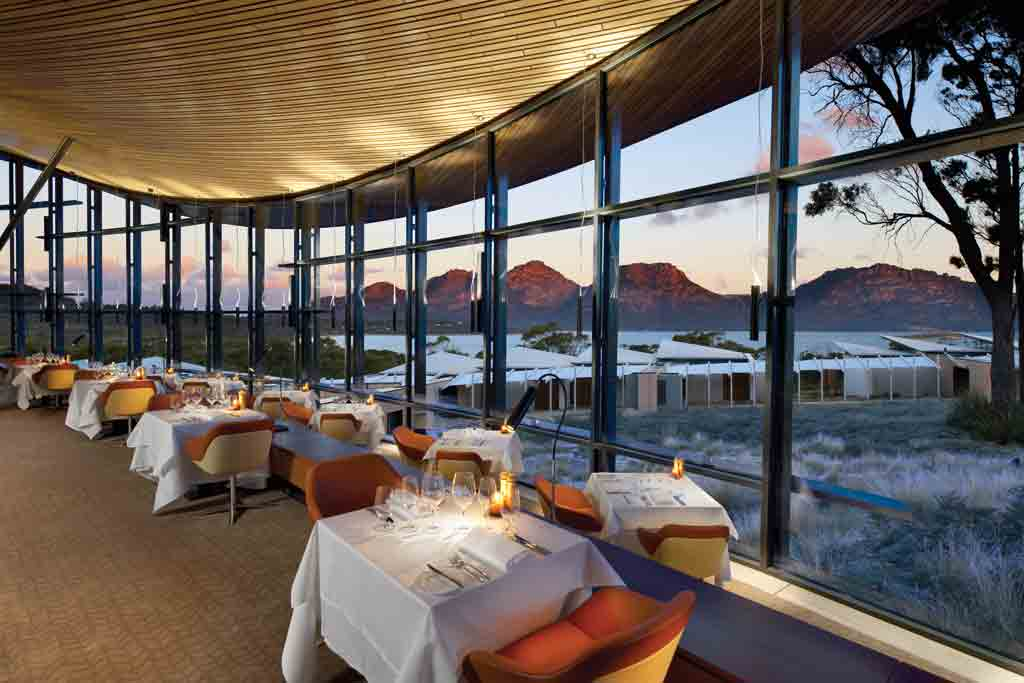 The view from the dining room Saffire Freycinet