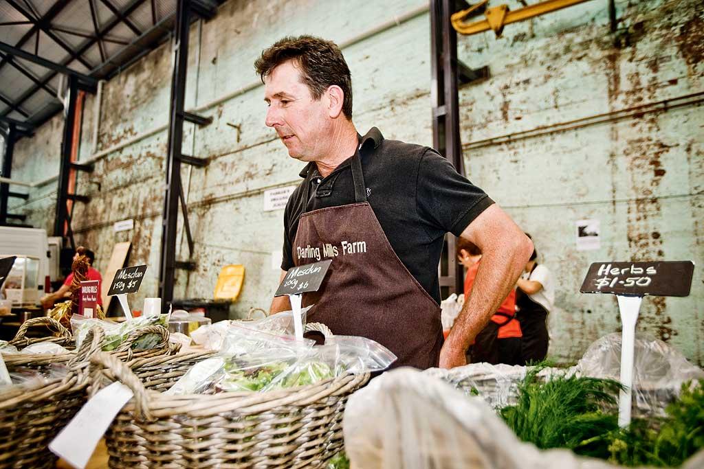 Steve Adey from Darling Mills Farm