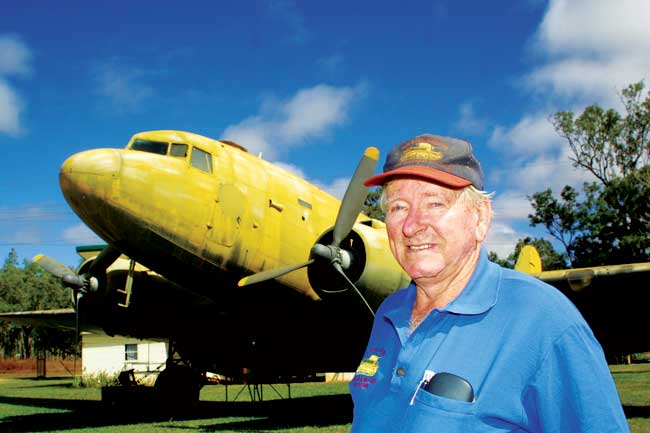 Syd Beck, proud owner and proprietor of the incredible Beck Museum just south of Mareeba on Queensland's Atherton Tablelands, has spent a lifetime collecting all manner of aircraft, vehicles and other military equipment and relics.