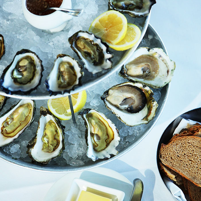Fresh Oysters, The Boathouse
