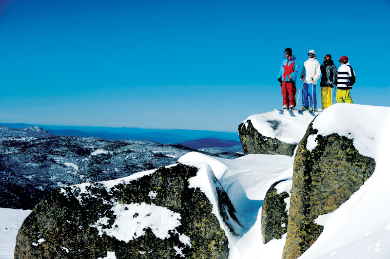 Thredbo offers plenty of variety for advanced skiers.