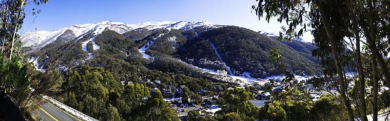 Test your skiing skill at Thredbo.