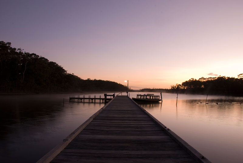 Lake Tyers  - Fishermans Landing, 4.30am.  By Tim Martin.
