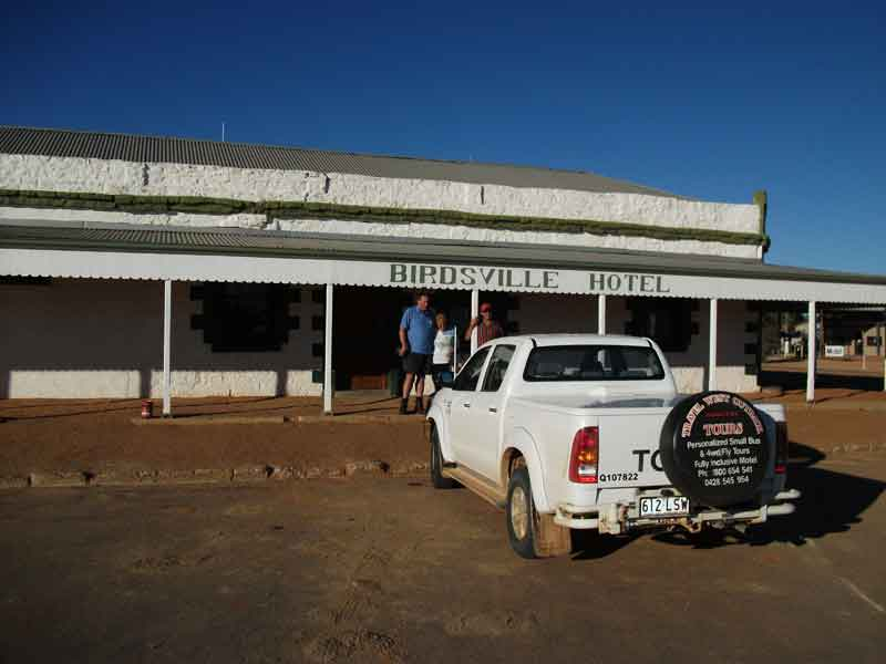 Visit the iconic Birdsville Hotel