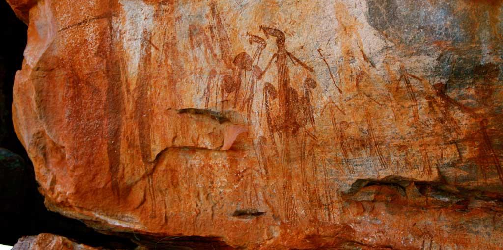 'Ancient Storyboard', Aboriginal rock art
