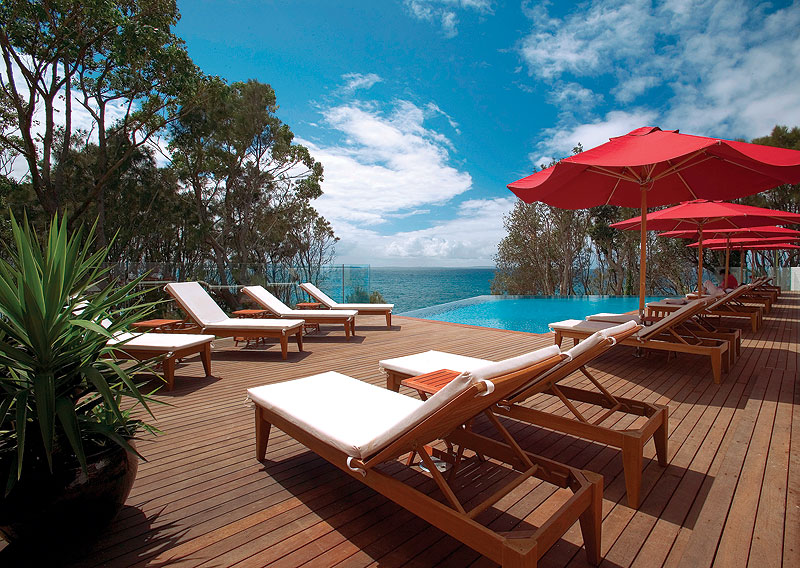 Bannisters Point Lodge. Surely one of Australia's best pools?