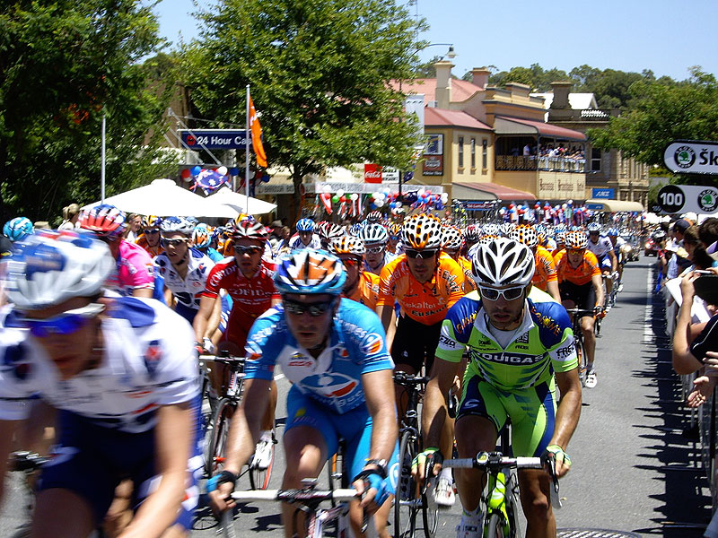 The 2010 Santos Tour Down Under is coming to the Barossa