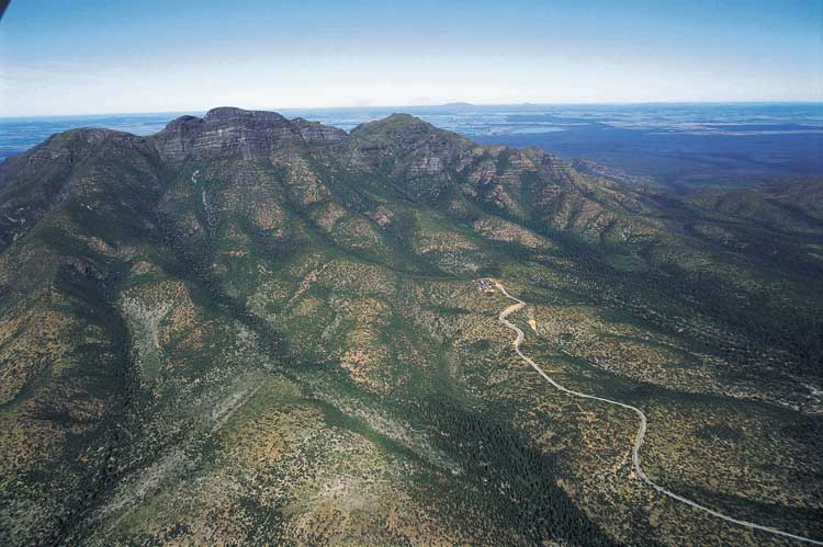 Bluff Knoll in WA's Stirling Range National Park 80km north of Albany.
