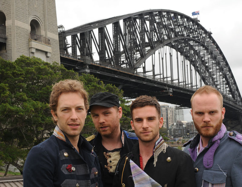 Coldplay by Tony Mott
