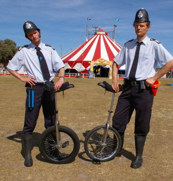 Cops but not as you know them at the Yamba Festival