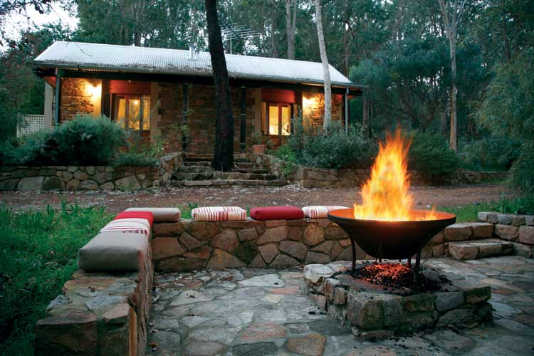 The enchanting Core Luxury Retreat north east of Perth is a back to earth experience