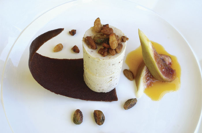 A nougat ice-cream concoction from Darley�s.