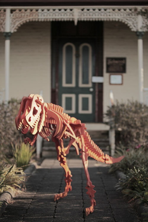 Wooden dinosaur from Selwood Science & Puzzles