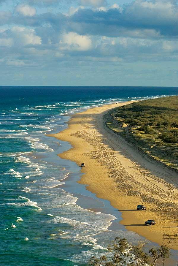 Aerial, Fraser Island
