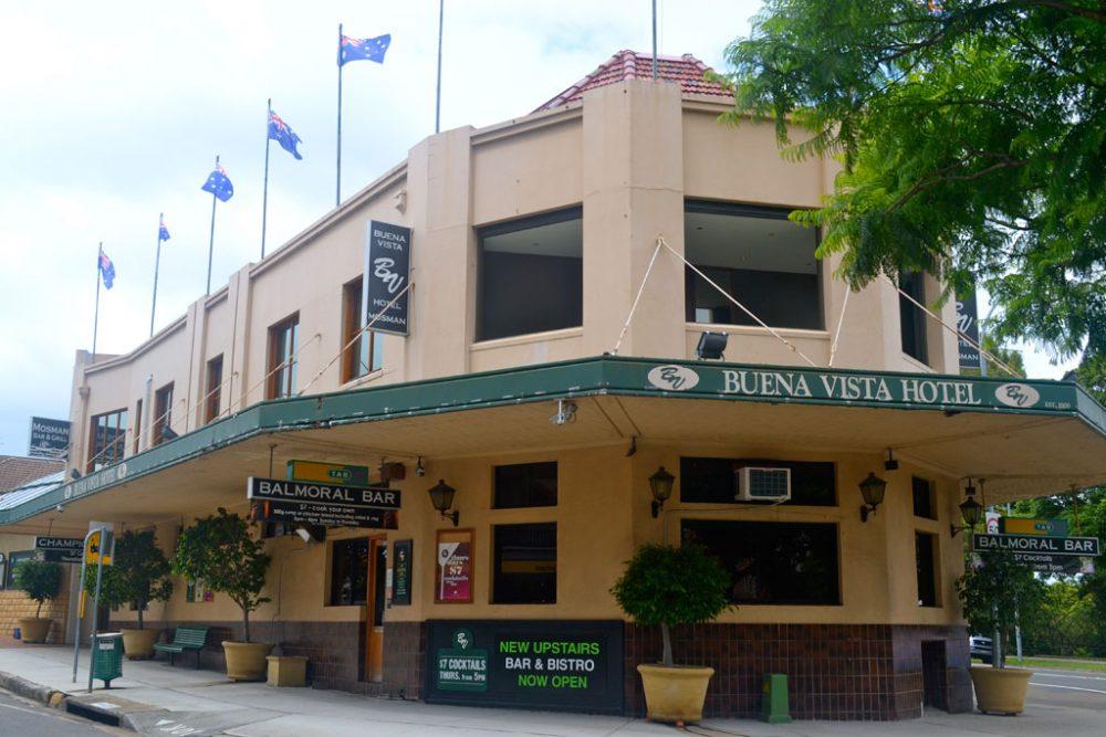 Bueno Vista Hotel. Image by Chloe Cann