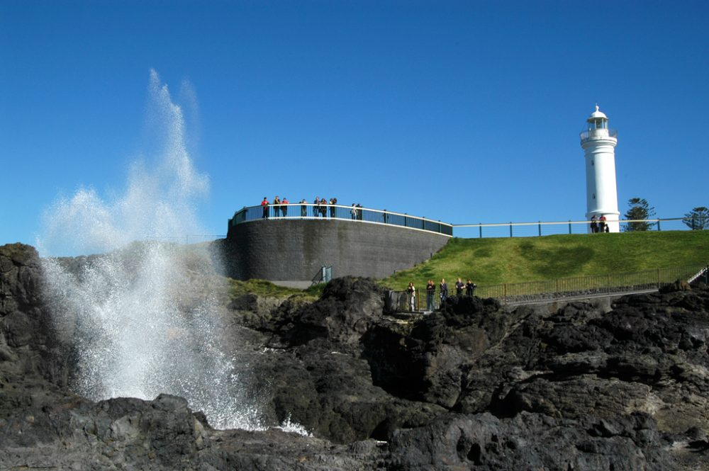The Kiama Blow Hole