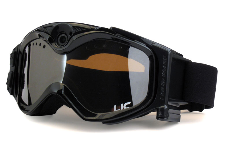 Liquid Image camera ski goggles