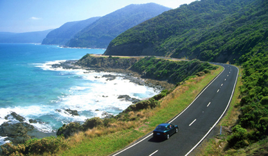 One of the best driving experiences in the world: Victoria's Great Ocean Road.