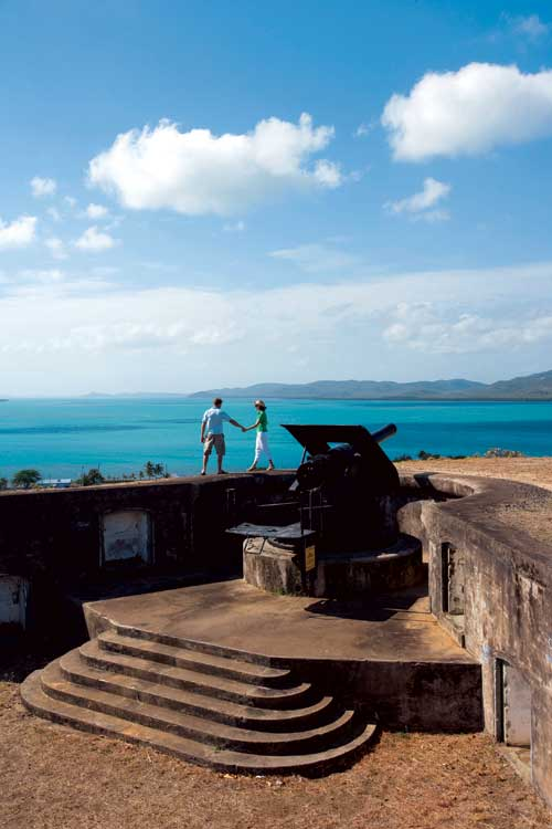 Green Hill Fort on Thursday Island stands guard over the Torres Straight.