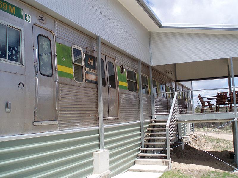 All Aboard the Harrington Glen Train House