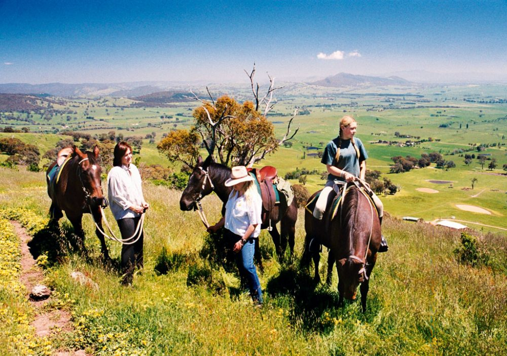 High Country horse riding
