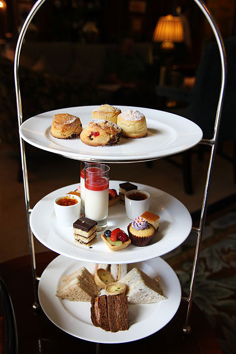 High Tea at the Observatory Hotel -- Image by Aimee Chanthadavong