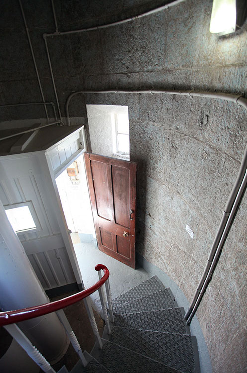 The inside of the Montague Island lighthouse built in the 1870s. Image by Solveig Walkling