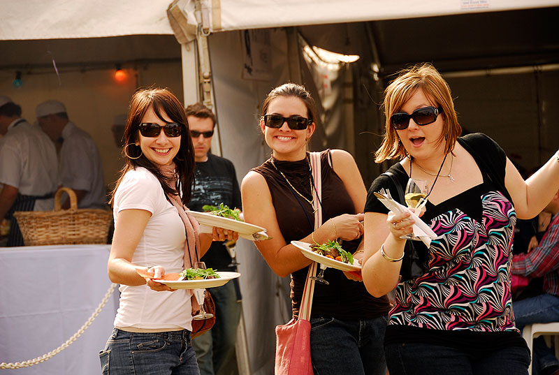 One of the state's largest regional food and wine events, the Lovedale Long Lunch seems to attract record numbers each year