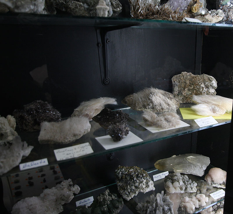 More mineral samples, including some extremely rare, and baffling,