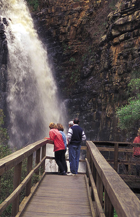 Visit the Morialta Conservation Park, just 10km from Adelaide. There are heaps of walks to do through the park, including ones to waterfalls.
