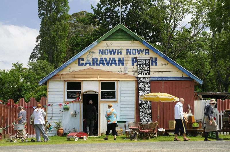 Nowa Nowa Caravan Park is the place for a spot of petanque