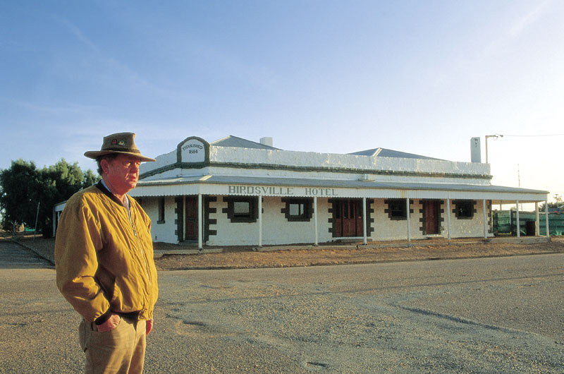 The famous Birdsville Pub, Image by Tourism Qld