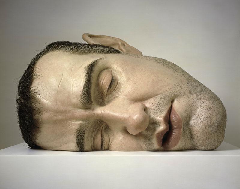 Ron Mueck's Mask II
