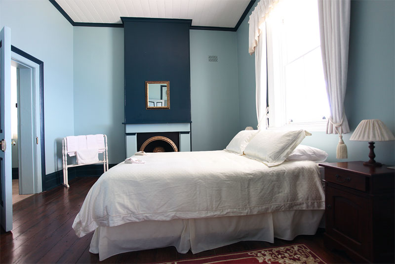 One of the lovingly restored rooms, Montague Island Lighthouse. Image by Solveig Walkling