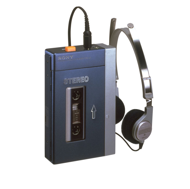 The very first Walkman, the TPS-L2, was released in 1979 and was 13cm high, 3cm thick, and even had two prior names for it, the Soundabout and the Stowaway.