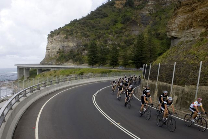 Aussies travel across the country on two wheels while raising money for cancer research
